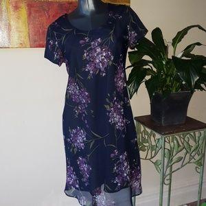 JESSICA HOWARD short sleeve floral dress aizw 10